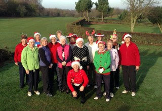 Ladies Christmas Competition